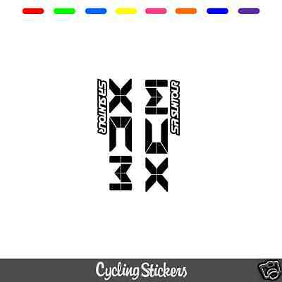 SR Suntour XCM V3 Style Suspension Fork Decal/Stickers | Replacement | Vinyl • 5.99£