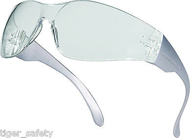 Delta Plus Venitex Brava 2 Clear Protective Cycling Sunglasses Eyewear Glasses • 4.94£