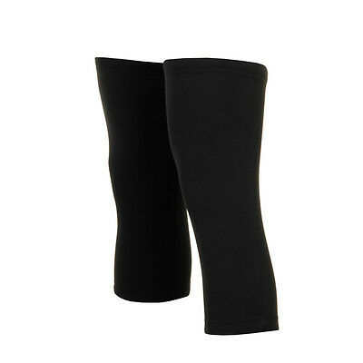 D2D Thermal Cycling Knee Warmers - Black • 12.99£