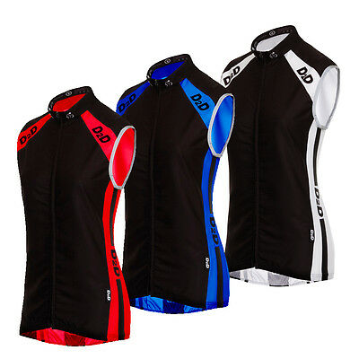 D2D Ladies Windskin Lightweight Windproof Cycling Gilet - Reduced From £32.99 • 19.99£