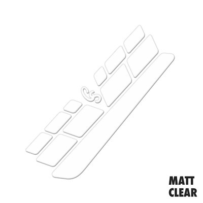 Textured Matt Clear Vinyl Chain Stay & Frame Protector Set - Protective Film  • 2.99£