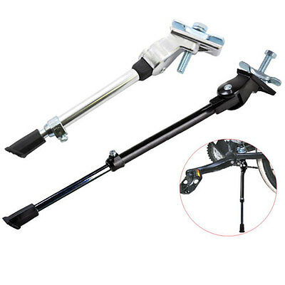 Heavy Duty Bike Bicycle Cycle Kick Stand Adjustable Rubber Foot Frame Fitting • 6.97£