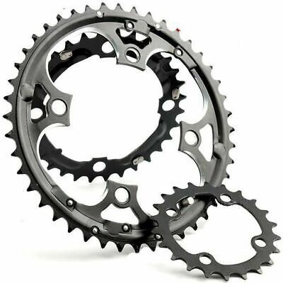 MTB Mountain Bike Bicycle 22T/32T/42T/44T Chainrings For Shimano 7/8/9/10Speed • 14.46£