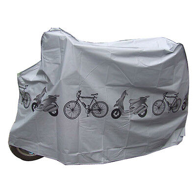 Universal Bicycle Cover Waterproof Bike Moped Scooter Sheet UV Weather Shelter • 6.97£