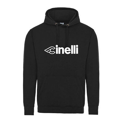 Cinelli Hoody Cycling T Shirt Vintage Bike Retro Jersey NEW Printed Retro • 22.99£