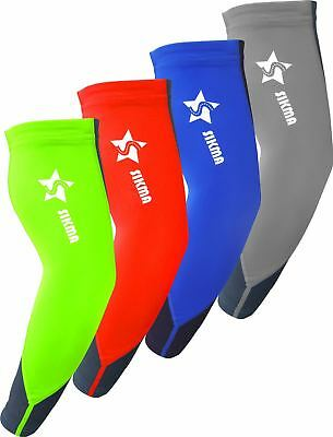 Cycling Arm Sleeves UV Sun Protection Lycra Arm Warmers Arm/Elbow Protector • 6.99£