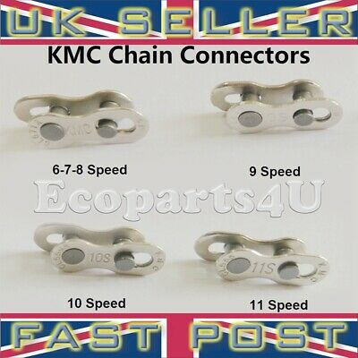 KMC 6/7/8 & 9 & 10 & 11 Speed Master Chain Connector Link Join Easy Replacement • 5.99£