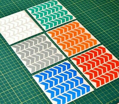 Reflective Chevron Stickers For Night Safety - Hi-vis - High Visibility • 3.49£