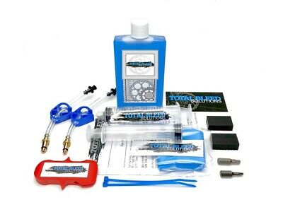 * TBS Brake Bleed Kit For Magura + 100ml Royal Blood * With Bleed Adapters HS11 • 14.99£