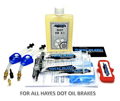 * TBS Bleed Kit For Hayes + DOT Fluid * Stroker Ace Sole Carbon Ryde Trail 9 • 11.99£