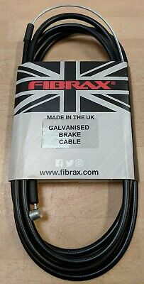 Fibrax Galvanised Brake Cable Inner And Outer MTB And BMX In Black • 2.49£
