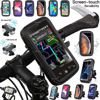 360 Bicycle Bike Waterproof Phone Case Cover Mount Holder For Mobile Cell Phone • 9.96£