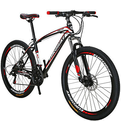 X1 27.5  Mountain Bike Shimano 21 Speed Mens Bicycle Front Suspension MTB • 269£