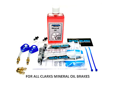 * TBS Hydraulic Brake Bleeding Kits For ALL Clarks + DOT Or Mineral Fluid! *  • 12.99£