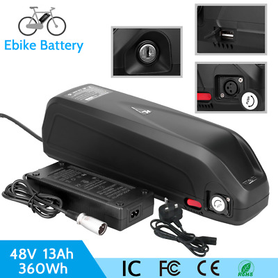 48V 13A Lithium Battery Fit Motor Power 1000W Electric E-Bike (S039-3 Series) • 240.99£