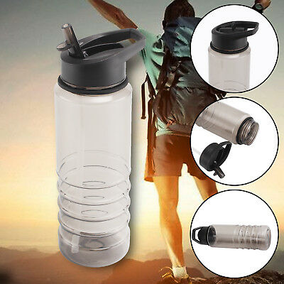 New Flip Straw Drink Healthy Water Bottle Cycling Gym Sport Top Cycling Bike Ace • 4.85£