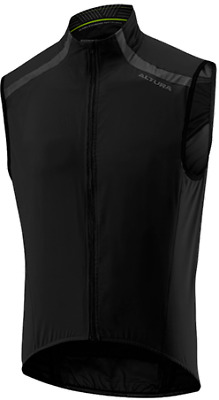 NEW! Altura NV2 Nightvision 2 Windproof Cycling Vest Gillet - Black • 29.99£