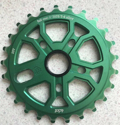 Eclat 25t Sprocket For Bmx - Green - 7075 T6 Alloy Cnc Machined • 4.50£