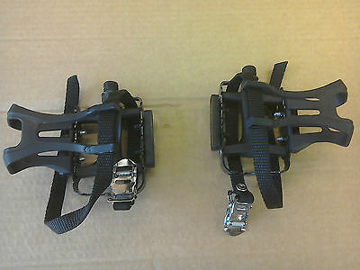 Brand New Wellgo M085 Pedals With Cages - Road Racing Bike, Fixie, MTB  • 14.95£