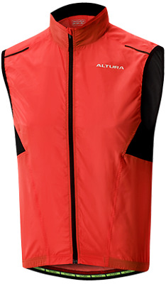 Altura Airstream Windproof Vest Gillet - Red • 24.99£