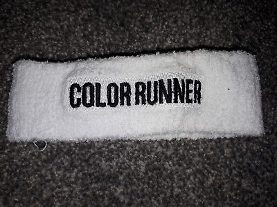 White Head Sweat Band  Color Runner  • 0.99£