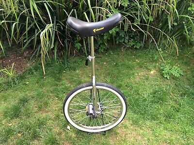 "Viscount CP 20"" Unicycle In Chrome With Stand • 50£"