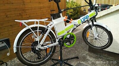 E-Life Natural 300 City Folding Electric Bicycle - Unisex • 400£