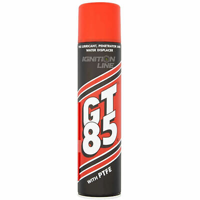 GT85 Spray Chain Lube With PTFE Lubricant Penetrator Water Displacer 400 ML • 6.49£