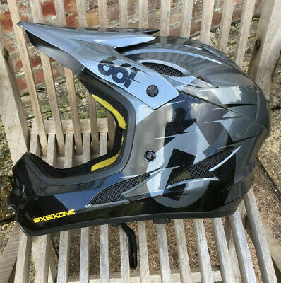 SixSixOne 661 Comp Full Face MTB Helmet Good Condition- Small • 20£
