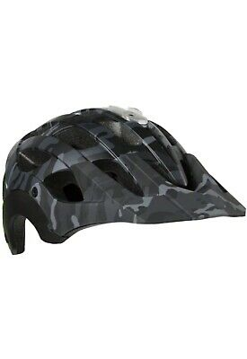 Lazer Revolution Helmet Mountain Bike Enduro Black Camo Green Size Large • 15.50£