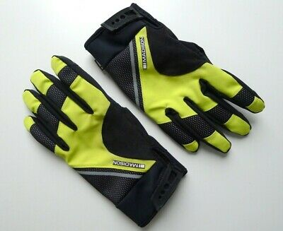Madison Thermal Winter Cycling Gloves Road Mountain Bike Commuter High Vis Large • 14.99£