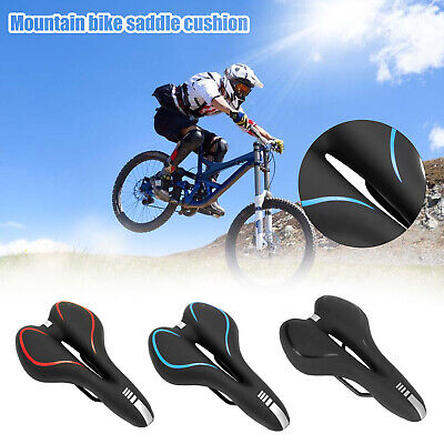 Bicycle Seat PU Bike Saddle Professional Bicycle Mountain Bike Accessorie 3Color • 7.99£