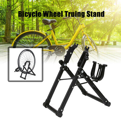 Foldable Cycling Bike Wheel Truing Stand MTB Road Bicycle Wheel Maintenance • 20.99£