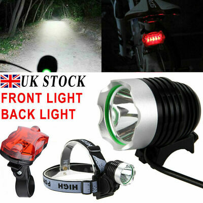 CREE XML T6 LED 1800 LM Cycling Front Bike Bicycle Head Light Headlamp Torch UK • 12.59£