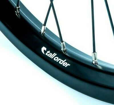 A.C.I. Black Double Butted Stainless Steel Spokes  Qty 10  / 264MM LENGTH • 4.99£