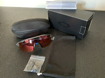 Oakley Radar EV Advancer Black Blue Sunglasses Prizm Trail Torch Lenses Case • 12.50£