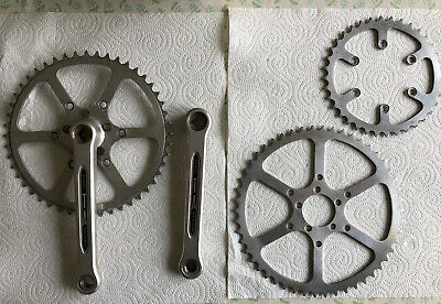 Specialites TA Crankset 170mm Includes 50, 48, 38 And 36 Teeth Chainrings • 74£