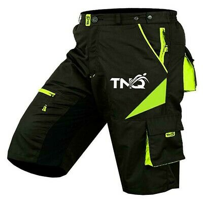 MTB Shorts Bicycle Mountain Cycle Off Road Padded Shorts Outdoor TNQ SPORTS UK • 23.99£