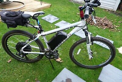 Electric Mountain Bike Conversion. Carrera Valour 1000w Motor. 48v Battery Fast  • 800£