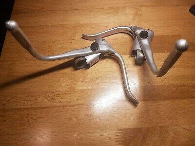 Vintage Weinmann Brake Levers With Safety Levers • 7.50£