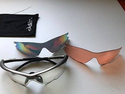 Dhb Cycling Glasses - 3 Visor Options And Case • 4.99£