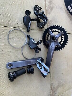 Sram X7 X9 Mini Groupset 2x10 Mtb 20 Speed Gears  • 100£