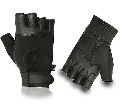 New Gel Padded Cycling Gloves Weight Lifting Bike Bicycle Fingerless Half Finger • 5.49£