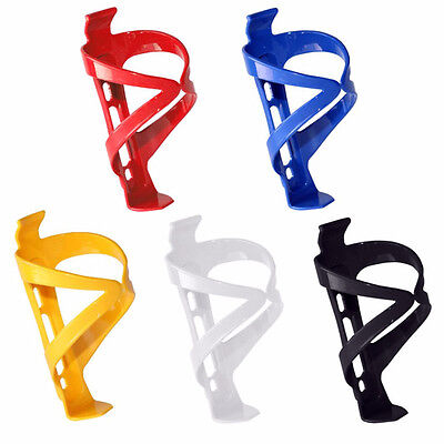 Plastic Water Bottle Cage HOLDER BRACKET For Cycling Bicycle Bike Drink • 1.99£