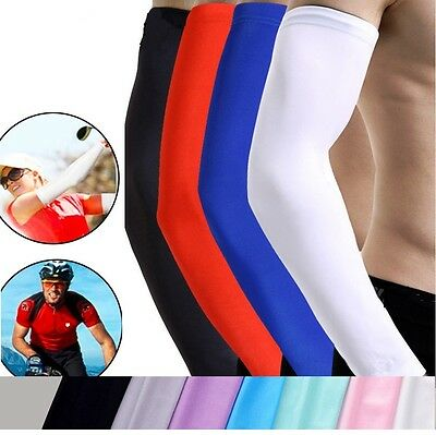 Arm Warmers Cycling Unisex Adult Sleeves Running Outdoor Sports  • 6.50£