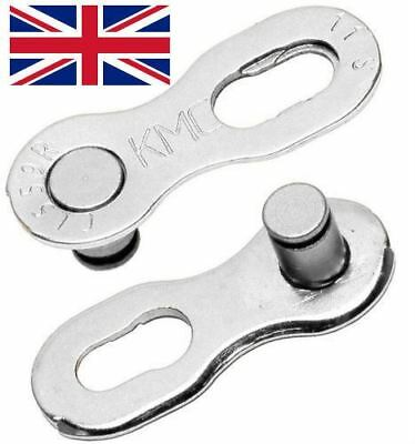 2 Pairs 11 Speed Link , Quick Link For Shimano/ Campagnolo/KMC Chains • 3.99£