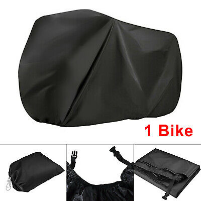 Waterproof Cycle Bicycle Bike Cover Fully Snow Rain Resistant Rust UV Prevention • 10.99£