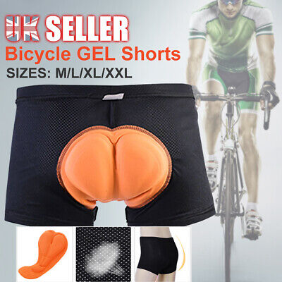 Summer Sports Shorts Pants Riding Cycling 3D Bicycle Underwear Padded Bike • 6.44£