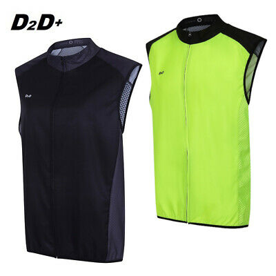 D2D Ladies Plus Size Windskin+ Lightweight Windproof Cycling Gilet • 38.99£