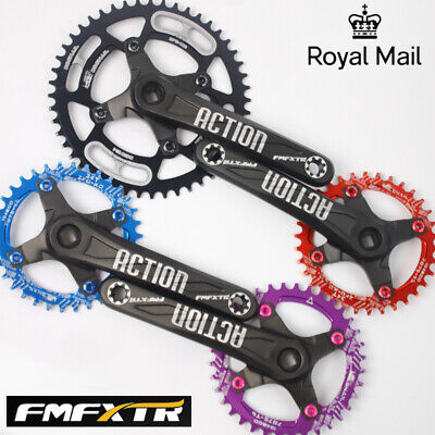 30-52t 104BCD 170mm Aluminum Round Oval MTB Road Bike Chainring Crank Chainset • 38.38£